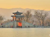 """""""美在北京""""专题摄影比赛投稿专栏(冬至的颐和园)"""