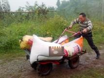 农民自制神车,神一样的烂路如履平地,元芳,你怎么看?(原创)