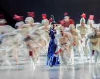 民族舞<花木兰>2。