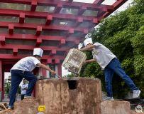 丹江大观苑第五届秋获风情节掠影---厨师的风采