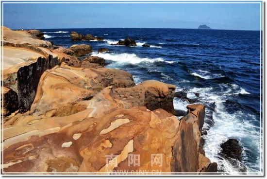 台湾野柳龟吼海岸