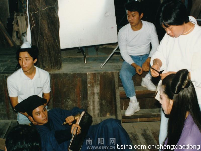 哥哥与王祖贤对视着是在对台词吗?